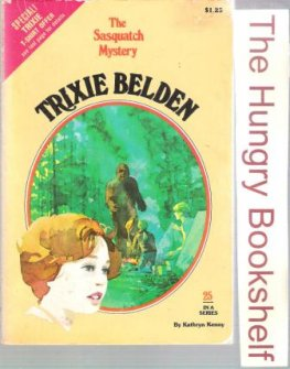 * KENNY, Kathryn : Trixie Belden #25 The Sasquatch Mystery Cameo