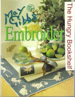 GIBBS, May : Embroidery SC Book Bookmark, Cushions, Buttons