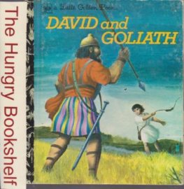 David and Goliath #471 Sydney Little Golden Book HC 1968