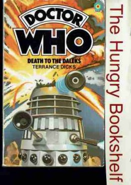 * Doctor Dr Who - Death to the Daleks - Terrance Dicks - PB Book