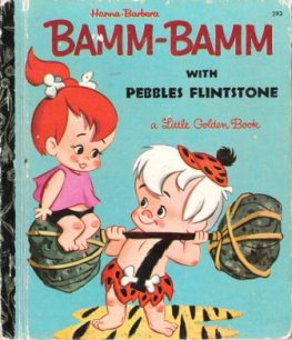 * Bamm Bamm With Pebbles Flintstone 293 Sydney LGB Hanna Barbera