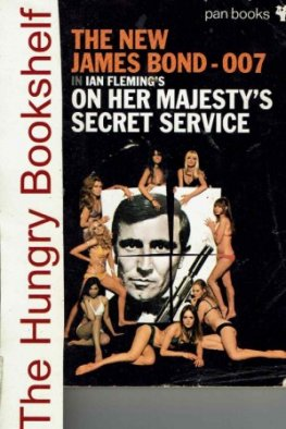 FLEMING Ian - New James Bond - On Her Majesty's Secret Service