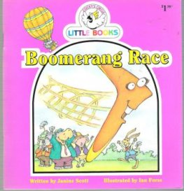 Boomerang Race : Cocky's Circle Little Books : Early Reader Kid