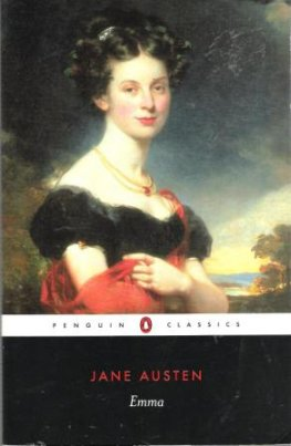 AUSTEN, Jane : Emma : Paperback Classic Fiction Novel Book