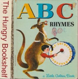 * ABC Rhymes #543 : Sydney Little Golden Book : HC LGB