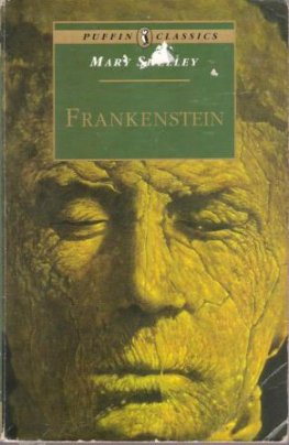SHELLEY, Mary : Frankenstein : Paperback Book Puffin Classics