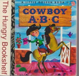 * Cowboy ABC #291 : Hardcover Sydney Little Golden Book LGB
