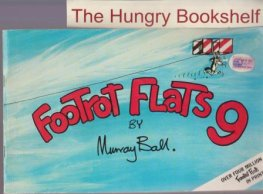 * BALL, Murray : Footrot Flats #9 Large Softcover Cartoon comic
