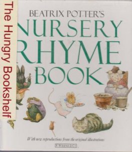 POTTER, Beatrix : Nursery Rhyme Book : Hardcover Kid's Book
