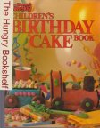 * AWW Children's Birthday Cake Book SC With Train Original