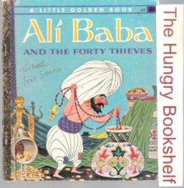 * Ali Baba and the Forty Thieves 323 Sydney Little Golden Book