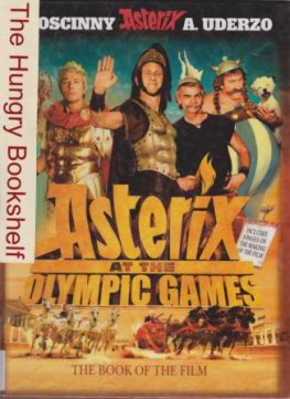 * ASTERIX at the Olympic Games : HC Book of Film Goscinny Uderzo