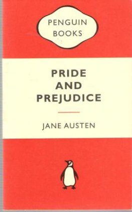 AUSTEN, Jane : Pride and Prejudice : Orange Penguin Classic Book