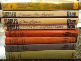 * JOHNS, Captain WE : BULK Lot of 8x Biggles Books HC