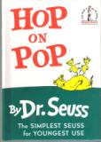 * DR SEUSS : Hop on Pop : Hardcover Book : Early Reader
