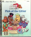 * Pound Puppies Pick of the Litter #110-59 Hardcover LGB Book
