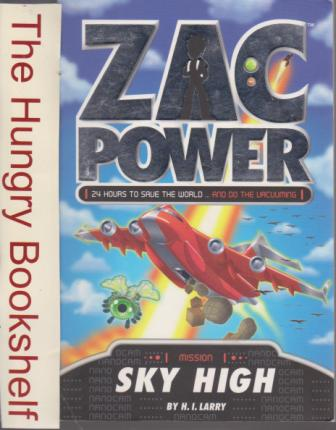 * ZAC POWER Mission Sky High : H.I Larry : PB 24 Hours to Save
