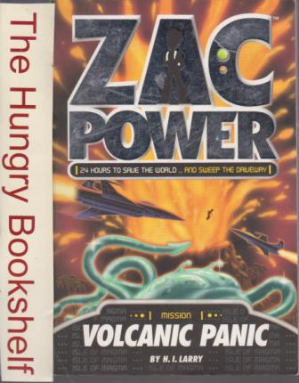 * ZAC POWER Mission Volcanic Panic H.I Larry : 24 Hours to Save