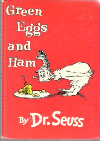 * DR SEUSS : Green Eggs and Ham : Hardcover Book : B-9