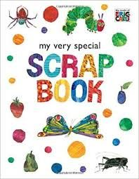 * CARLE, Eric : My Very Special Scrap Book : SC *NEW* Colouring