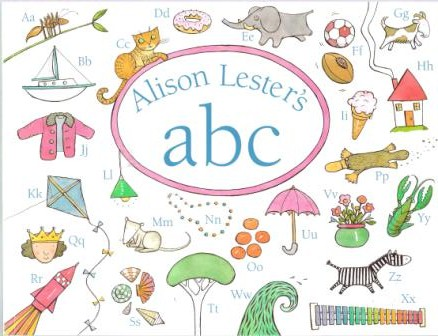 * LESTER, Alison : ABC : Softcover Book *NEW* Kid\'s Picture Book