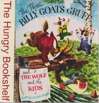* The Three Billy Goats Gruff & the Wolf & the Kids #173 LGB HC