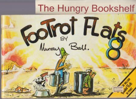 BALL, Murray : Footrot Flats #8 : Large Softcover Cartoon Book