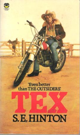 HINTON, S.E : Tex : Paperback Book by author of The Outsiders