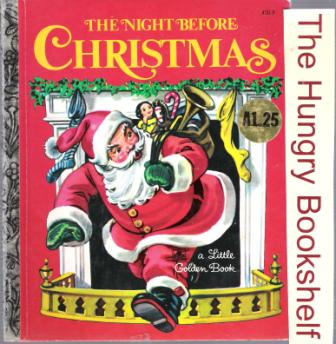 * The Night Before Christmas #450-9 : Little Golden Book LGB HC
